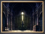 Inside the Castle of the West Framed Giclee Print by Kyo Nakayama