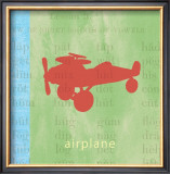 Vintage Toys Airplane Posters by Paula Scaletta