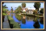 Blue Canal Framed Giclee Print by Jack Heinz