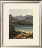 Wolfgangsee, Lake Wolfgang in the Salzkammergut Art by Ferdinand Georg Waldmueller