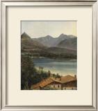 Wolfgangsee, Lake Wolfgang in the Salzkammergut Art by Ferdinand Georg Waldmueller