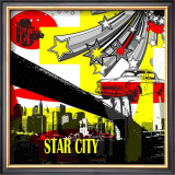 Star City I Prints by Jean-François Dupuis