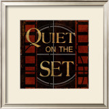 Quiet on the Set Posters by Kelly Donovan