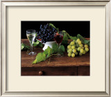 Nature Morte aux Raisins Print by Dominque Zintzmeyer