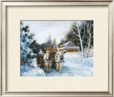 Winter Fun Print by Lise Auger