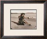 Dance of the Turtle, Hula Girl Print by Alan Houghton