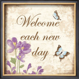 Welcome Each New Day Prints by Kathy Middlebrook