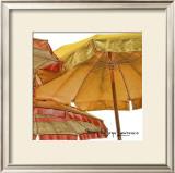Umbrellas Italia II Art by Terry Lawrence
