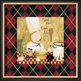 Good Food Good Life III Prints by Dan Dipaolo