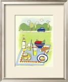 Country Picnic Prints by Lorraine Cook