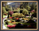 Butchart Gardens, Vancouver Island, Canada Framed Giclee Print by Eric Curre