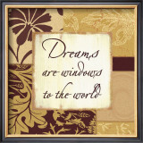 Butternut and Cocoa: Dreams Posters by Marilu Windvand