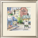 Place Jacques-Cartier Prints by Jean-roch Labrie