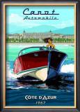 Vedette Rapide, Cote d'Azur Posters by Bruno Pozzo