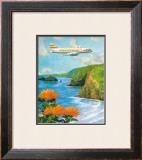 Hawaiian Airlines Framed Giclee Print by Lloyd Sexton