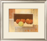 Four Red Apples Prints by Heinz Hock