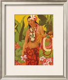 Lei Vendor Prints by J. Maybra