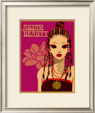 Asian Beauty at Party Print by Noriko Sakura
