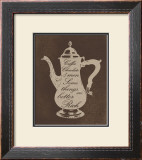 Rich Coffee Print by  Regina-Andrew Design