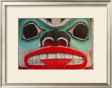 Great Northwest Bear Totem Framed Giclee Print by Charles Glover