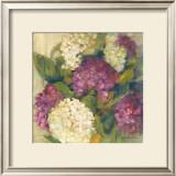 Hydrangea Delight I Print by Carol Rowan