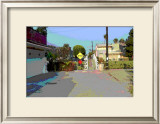 End, Venice Beach, California Framed Giclee Print by Steve Ash
