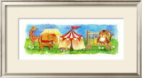 Circus Friends I Prints by Wendy Darker