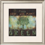 Green Planet Art by Wani Pasion
