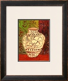 Lotus Pot I Print by Joyce Lieberman