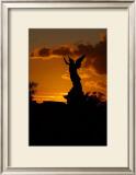 Angel Sunset Framed Giclee Print by Charles Glover