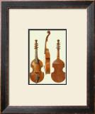 Antique Violas II Print by William Gibb