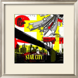 Star City I Posters by Jean-François Dupuis