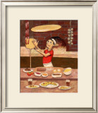 Pizza in Box Framed Giclee Print by John Howard