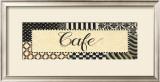 Cafe Poster by Pamela Desgrosellier