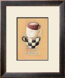 Cafe Espresso Print by Nicola Evans
