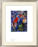 Blue Circus Prints by Marc Chagall