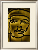 Che Framed Giclee Print by Charles Glover