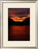 Alaskan Sunset Framed Giclee Print by Charles Glover