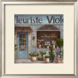 Fleuriste Posters by  Nan
