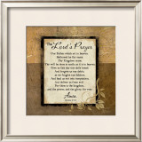 The Lord's Prayer Prints by Jennifer Pugh