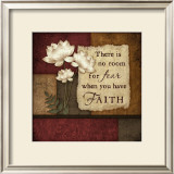 Faith Print by Jennifer Pugh