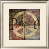 Symbol of Peace 4-Patch Prints by Benny Diaz