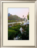 Icebergs on Canal Framed Giclee Print by Jack Heinz