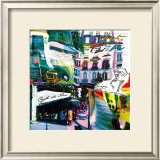 St Germain Rive Gauche Posters by  Kaly