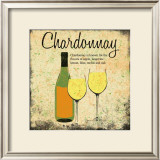 Chardonnay Poster by Louise Carey
