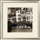 Ponte Venezia Poster by Bret Staehling