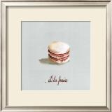 Macaron à la Fraise Prints by Pascal Cessou