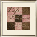 Life in Pink Prints by N. Harbick
