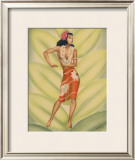 Graceful Dancer Framed Giclee Print by  Gill