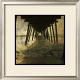 Pier Break Prints by John Golden